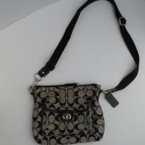 Coach Signature Crossbody Bag Style 45026
